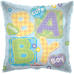 Воздушный шар Подушка Little BabyBoy с гелием, квадрат