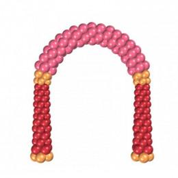 Арка из латексных шаров, ассорти №5