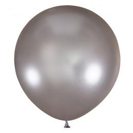Большой шар Серебряный металлик, 76 см