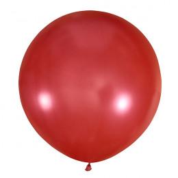 Большой шар Красный металлик, 76 см
