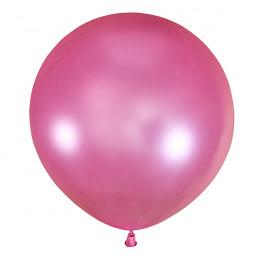 Большой шар Розовый металлик, 76 см