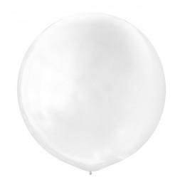 Большой шар Белый металлик, 76 см