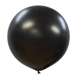 Большой шар Черный металлик, 91 см