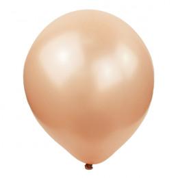 Воздушные шары Перламутровое Розовое Золото