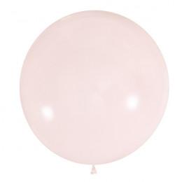 Большой шар Нежно-клубничный, 61 см