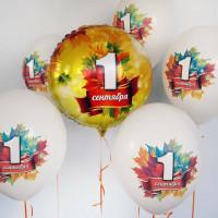 Набор гелиевых шаров на первое сентября