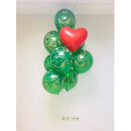 Букет воздушных шаров Камуфляж для любимого мужчины