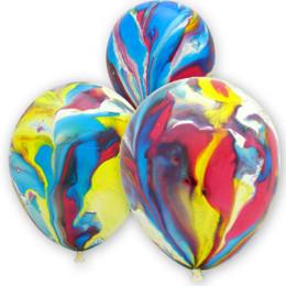 Шары Агат многоцветный
