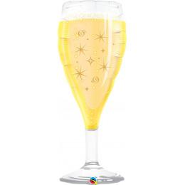 Фигурный шар Бокал игристого шампанского