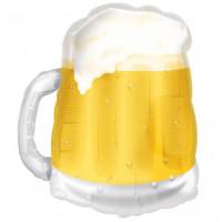 Фигурный шар Кружка с пивом