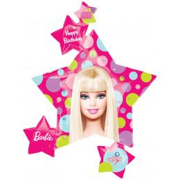 Фигурный шар Барби, звездочки