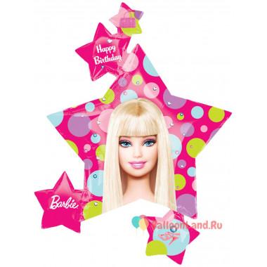 Фигурный шар 'Барби', звездочки