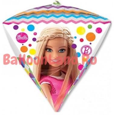 Фигурный шар 'Барби', алмаз