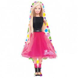 Фигурный шар кукла Барби, в полный рост