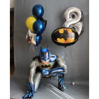 Набор шаров с ходячей фигурой Бэтмен