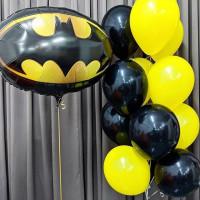 Набор из фонтана и шара с эмблемой Бэтмена