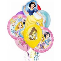 Букет из шариков с гелием Белоснежка и другие принцессы Дисней