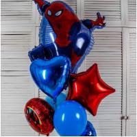 Букет воздушных шаров Человек-паук