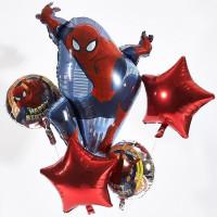 Букет фольгированных шаров Человек-паук