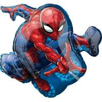 Фигурный шар Человек-паук летит