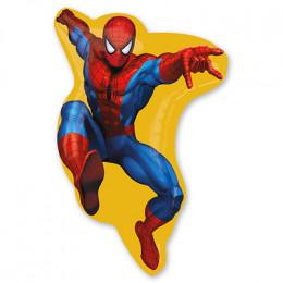 Фигурный шар Человек-паук в прыжке