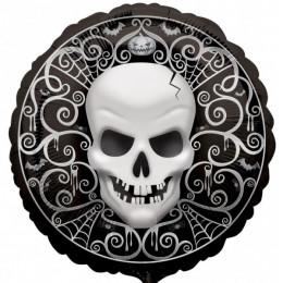 Шар-круг Безубый череп с узорами