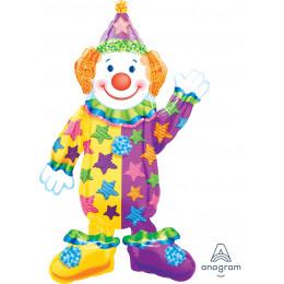 Ходячий шар Веселый Клоун