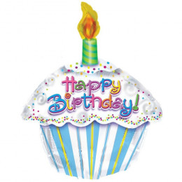 Фигурный шар Фигурный шар Тортик С Днем рождения