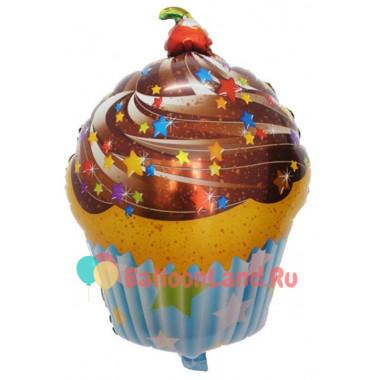 Фигурный шар 'Шоколадный кекс'