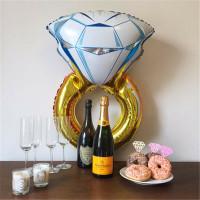Фигурный шар Кольцо с бриллиантом - дополнительное фото #3