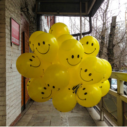 Воздушные шары Смайлы - дополнительное фото #1