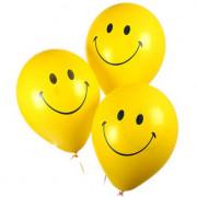 Латексные шарики Смайлы - дополнительное фото #2