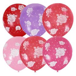 Воздушные шары с розами - дополнительное фото #1