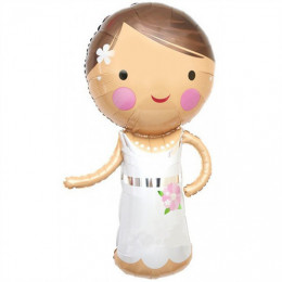 Фигурный шар Прекрасная невеста - дополнительное фото #1