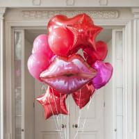 Букет шариков Воздушных поцелуй