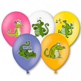 Шары Крокодильчик Свомпи Разноцветные