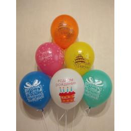 Воздушные шары на день рождения, Тортики - дополнительное фото #1