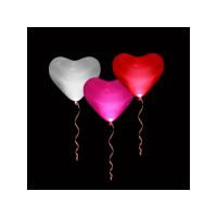 Шары Светящиеся сердца 3-х цветов, 40 см