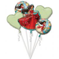 Букет шаров Елена из Авалора и сердца