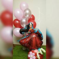 Композиция из гелиевых шаров Принцесса Елена из Авалора