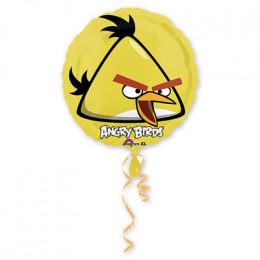 Шар-круг Желтая птичка из мультика Angry Birds