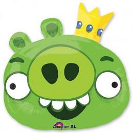 Фигурный шар Король Свиней из мультика Angry Birds