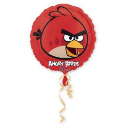 Шар-круг Красная птичка из мультика Angry Birds