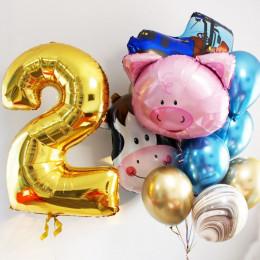 Композиция из шаров с гелием Ферма на два года