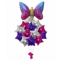 Букет шаров феечка со звездами