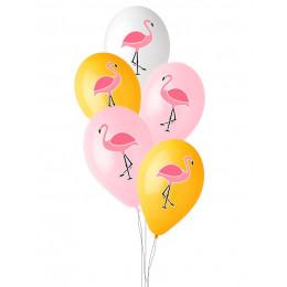 Шары Фламинго разноцветные