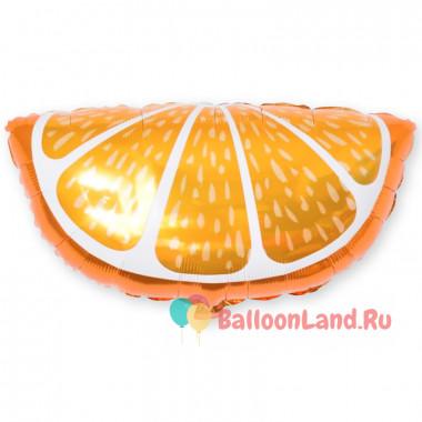 Фигурный шар Долька Апельсинки