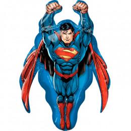 Фигурный шар летящий Супермен