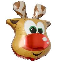 Фигурный шар Олень (голова)