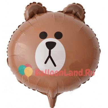 Фигурный шар Мишка (голова)